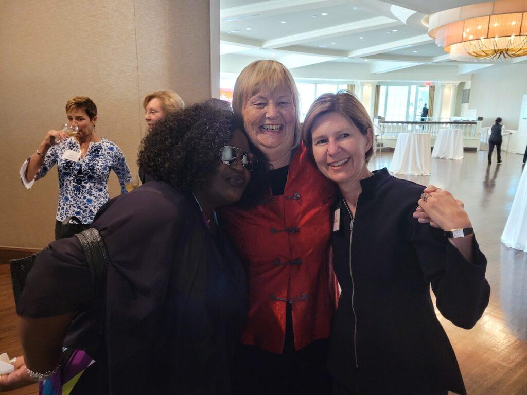 Ethel, Karen Herman and Wendy Doyle 2021