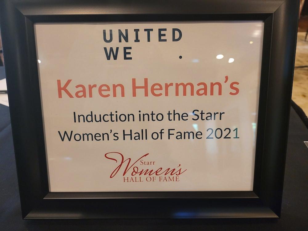 Karen Herman Hall of Fame